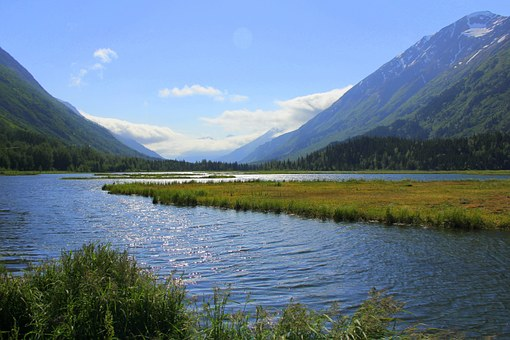 Alaska, Getaway, Landscape, Wilderness, Nature, Scenery