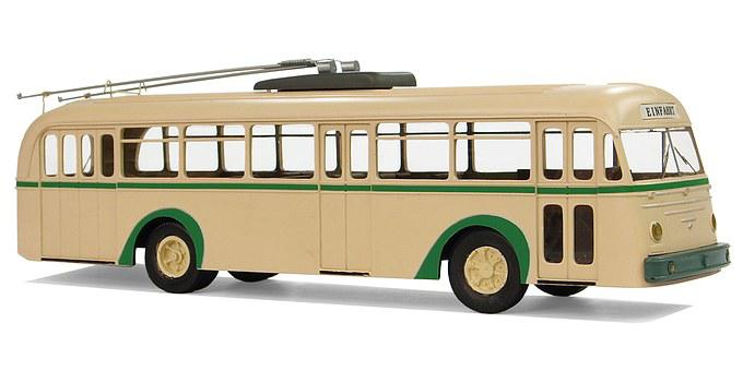 Uerdingen, Model Type 3, Trolley Buses, Model Cars