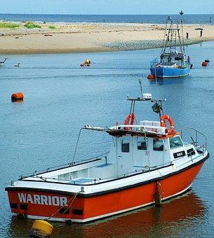 Boats, Bay, Sea, Water, Landscape, Ocean, Travel