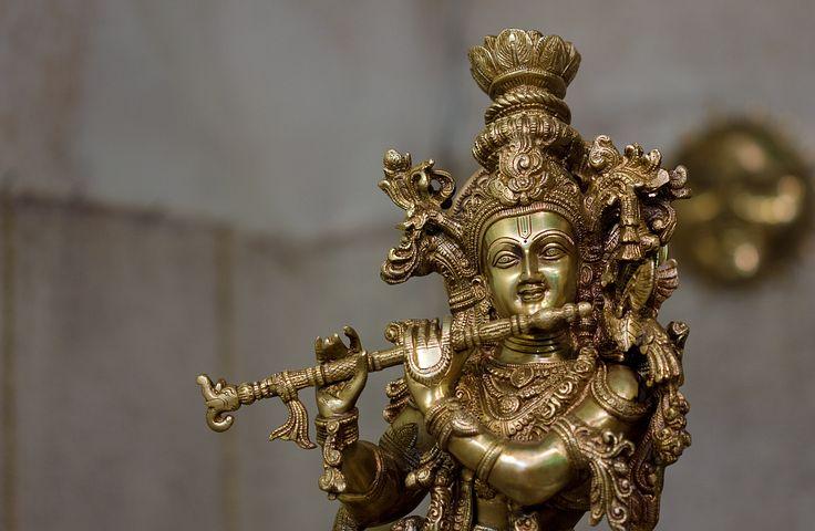 Idol, India, Lord Krishna, Religion, Sacred