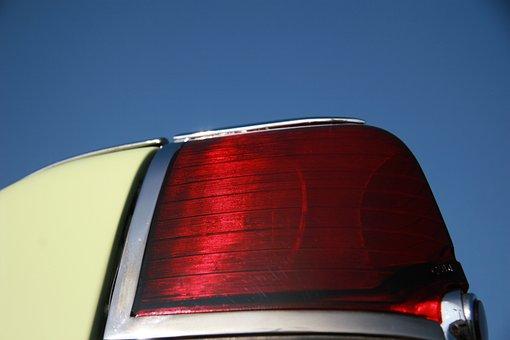 Mint, Classic, Retro, Tail Light, Tail, Automobile, Car