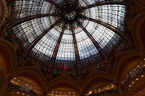 Paris, Roof, Dome, Building, House Roof