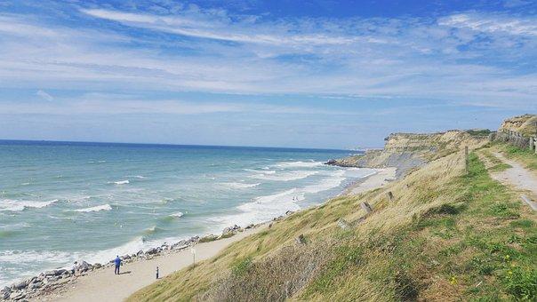 Landscape, Sea, Sides, Beach, Sky, Water, Sand, Waves