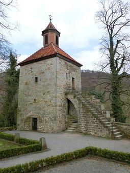 Schaumburg, Weser Uplands, Landscape, Middle Ages