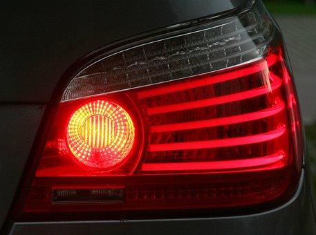 Brake Light, Spotlight, Bmw, Tail Light, Rear Fog Light