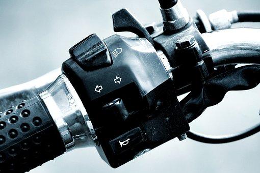 Throttle, Motorcycle, Chrome, Technology, Vehicle