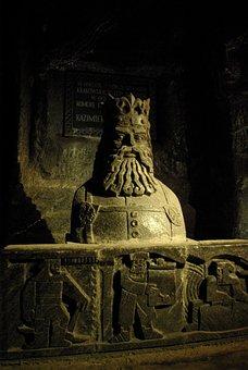 Wieliczka, Salt Mine, Underground, Salt, Sculptures