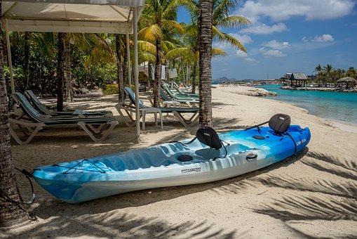 Resort, Kayak, Lagoon, Tropical, Water, Beach, Summer