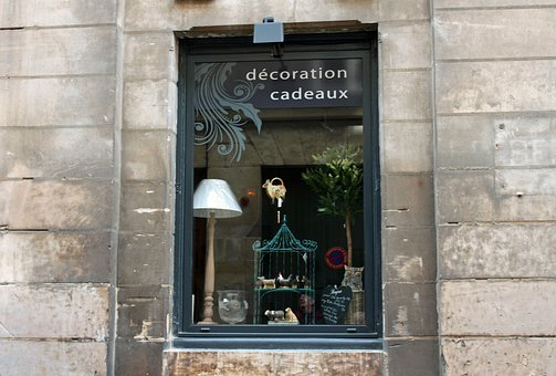 Shop, Window, Lamp, Gifts, French, Store, Retail