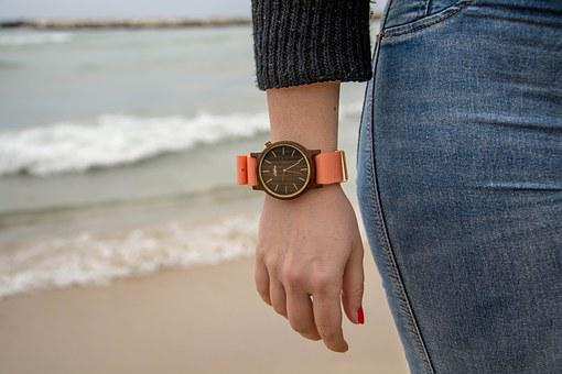 Wooden Watches, A Watch, Bari, Coast, Sea, More, Italy