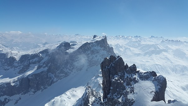 Sulzfluh, Drusenfluh, Alpine, Mountains, Rätikon