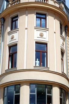 House, City, Arch, Brno Czech Republic, Architecture