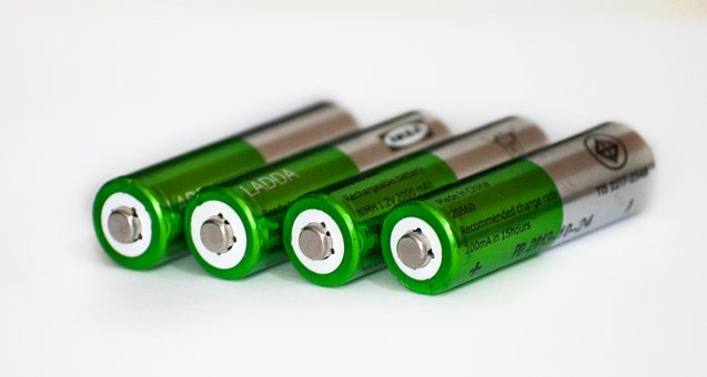 Batteries, Energy, Rechargeable, Power