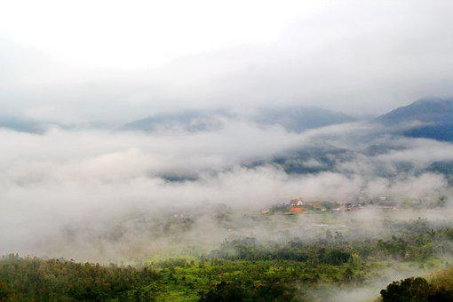 Bario, Sarawak, Borneo, Malaysia, Clouds, Travel, Asia