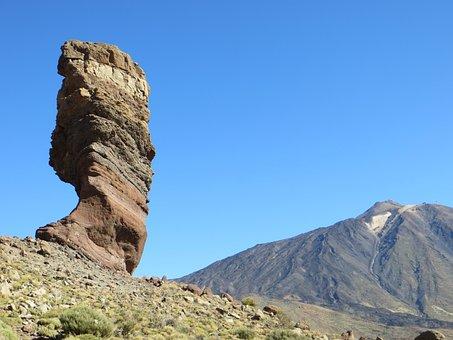Rock, Tenerife, Teide, Canary Islands, Cliff, Teyde