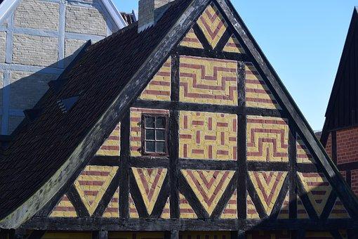 House, Ancient, Danish, Denmark, Arhus, Tourism