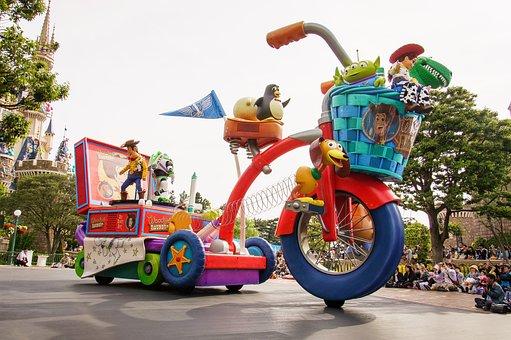 Toy's Story, Disney, Japan, Tokyo, Woody