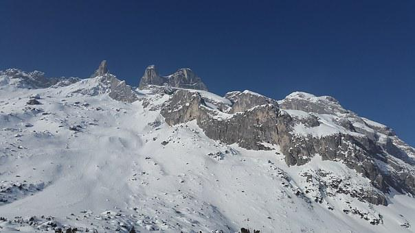 Drusenfluh, Alpine, Mountains, Rätikon, Drusen Towers