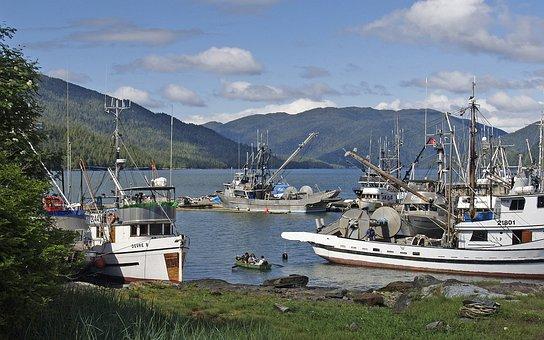 Prince Rupert, City, Coast, Boats, Fishing, Bay