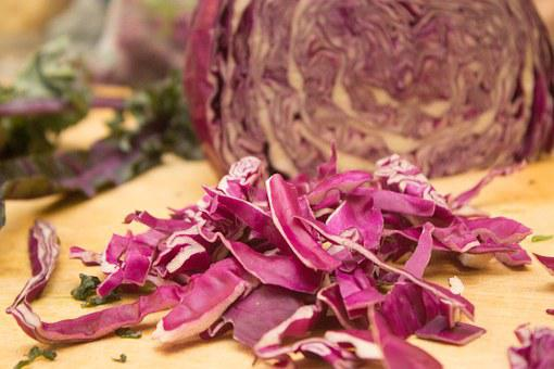 Purple, Cabbage, Vegetable, Food, Fresh, Healthy