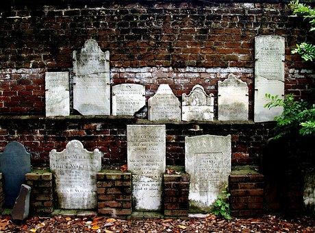 Head Stones, Civil War, Savannah, Ga, History, Monument