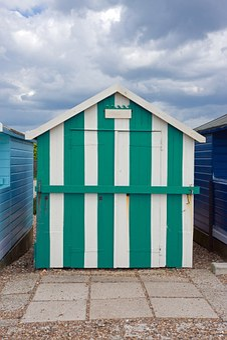 Beach Hut, Beach House, Wooden, Beach, House, Hut, Sky