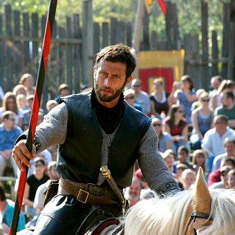 Knight, Lance, Medieval, Horse, Warrior, Chivalry