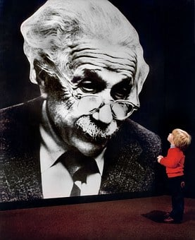Oak Ridge, Tennessee, Albert Einstein, Portrait