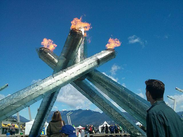 Vancouver, Canada, Olympics, Olympic Torch, Cauldron