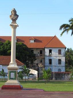 Square, Place Des Palmistes, Mansion, Cayenne
