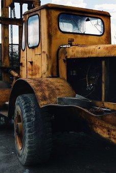 Car, Old, Retro, Vehicle, Vintage, Wreck, Vintage Cars