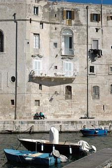 Bari, House, Ship, Peace, Siesta, Sea