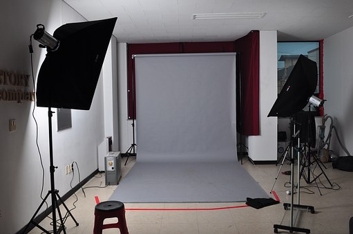 Studio, Shooting, Photo Studio, Stage Again, Production