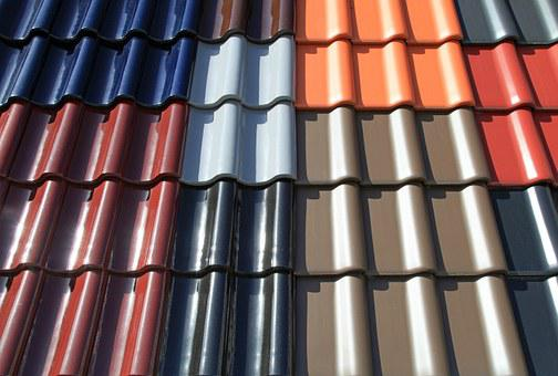 Tile, Roofing Tiles, Intense Colours, Brick, Covered