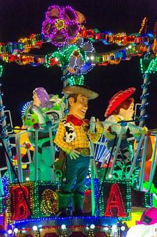 Disney, Japan, Parade, Tokyo, Toy's Story, Woody
