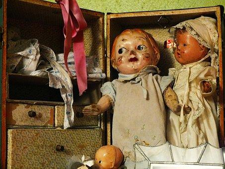Virginia Beach, Virginia, Forgotten Dolls, Antiques