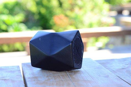 Speaker, Music, Sound, Wireless, Bluetooth, Design