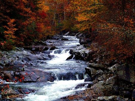 Scenic, Smoky Mountains, Tennessee, America, Usa