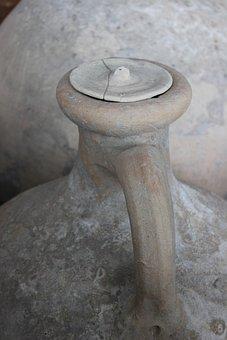Amphora, Antique, Rome, St-roman-en-gal, Vestige