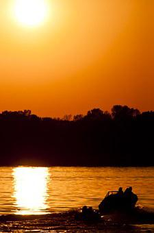 Lake, Buckhorn Lake, Solar Eclipse, Eclipse