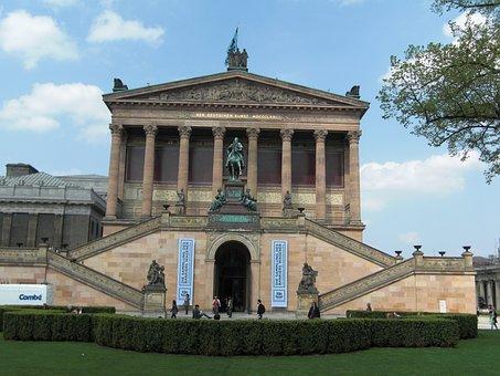 Old National Gallery, Berlin, Museum, Building