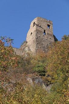 Castle Are, Altenahr, Ruin, Tower, Fortress, Building