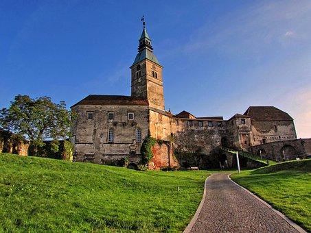 Burg Güssing, Castle, Burgruine, Height Burg, Hdr Image