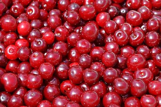 Cherries, Fruit, Cherry, The Freshness, Vitamins, Food