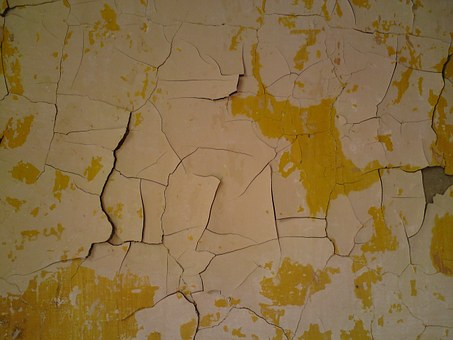 Peeling Paint, Wall, Old, Color, Grunge, Background