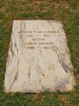 Alexander Mccormick, Congressional, Cemetery, Minister