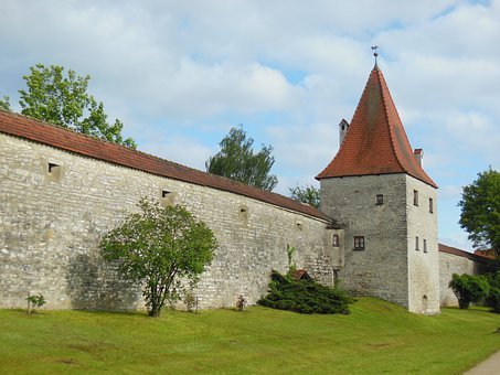 Berching, Altmühl Valley, Defensive Tower, Fortress