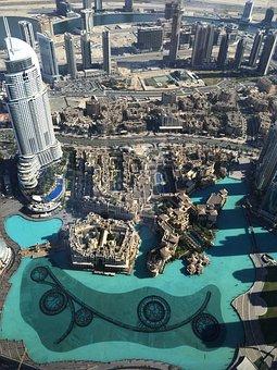 Burj Khalifa, Dubai, Overlooking The