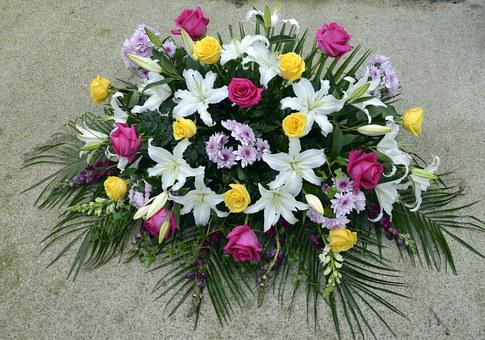 Natural Flower Arrangements, Flowers For Deceased