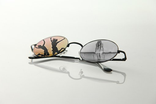 Glasses, Grief, Joy, Huinoaerak, Synthetic